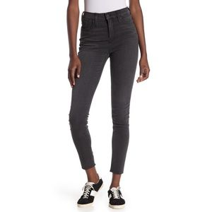 Madwell Skinny Skinny Mid-Rise Black Wash Jeans 27